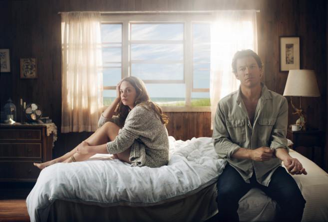 Ruth Wilson y Dominic West, en 'The Affair', mejor serie...