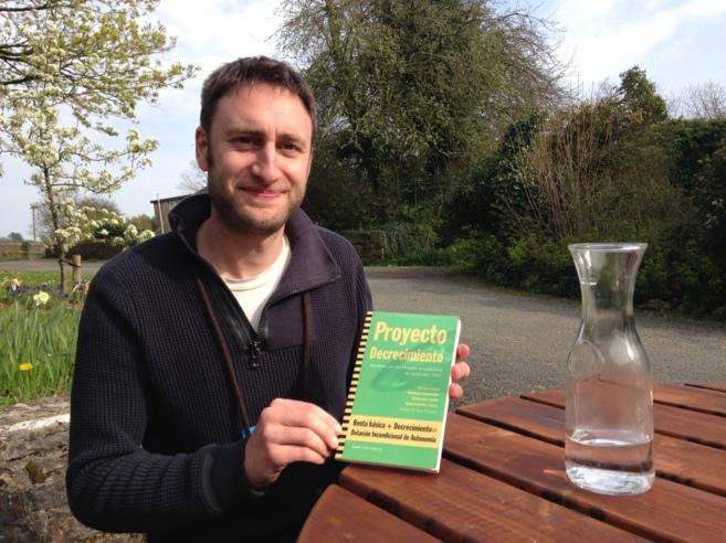 Vincent Liegey, coautor de Proyecto Decrecimiento.