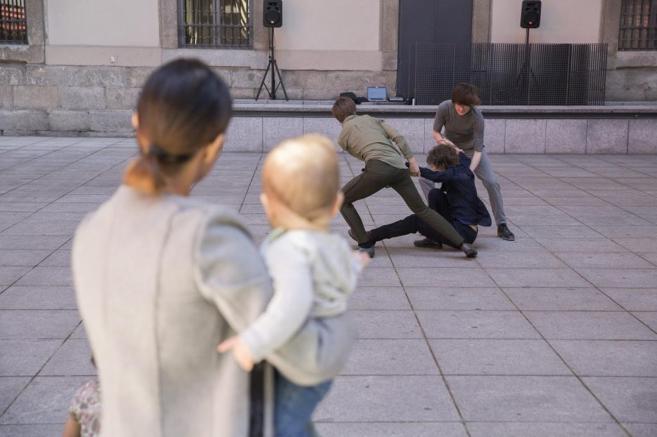 Espectáculo de danza 'Prueba Trinity 1.0' en el Museo...
