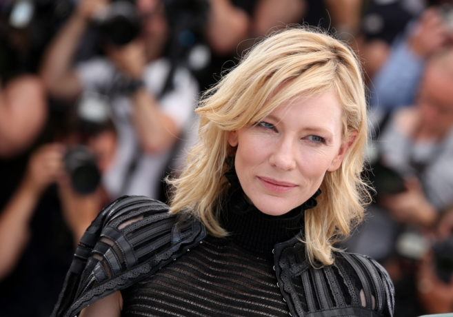 La actriz Cate Blanchett en el festival de Cannes.
