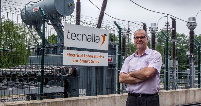 Aitor Kortajarena, director del área de energía eléctrica de...