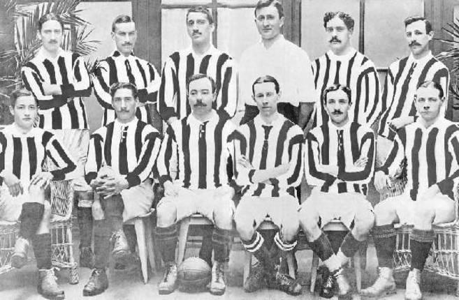 El Athletic en 1910, campeón de copa con cuatro jugadores británicos...