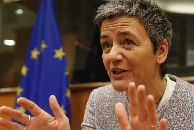 La comisaria europea para Competencia, Margrethe Vestager