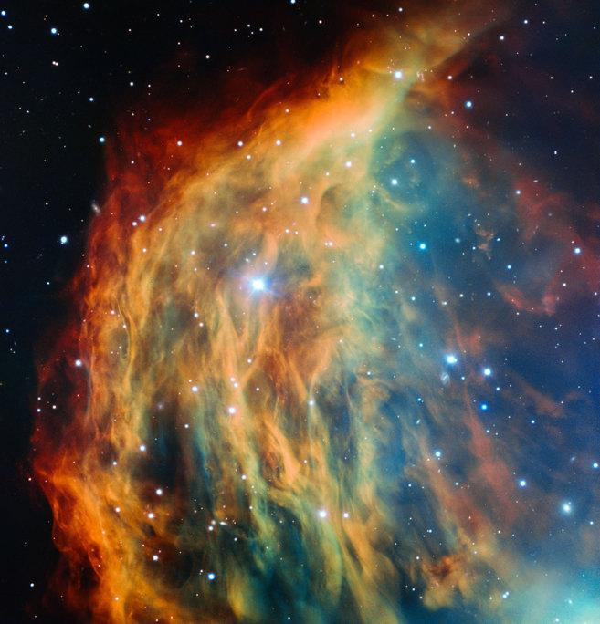 Imágenes de la nebulosa Medusa captadas por el telescopio Very Large...