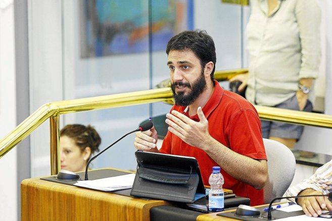 El ex alcalde y portavoz del grupo socialista en la Diputación de...