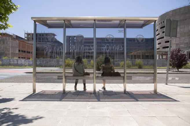 La mole abandonada del Nuevo Hospital de Toledo.
