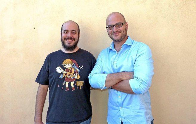 Antonio de la Torre y Miquel Gelabert, ganadores del primer premio del...