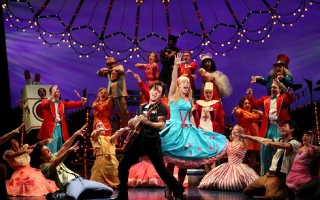 Una pieza de Broadway en Nueva York.
