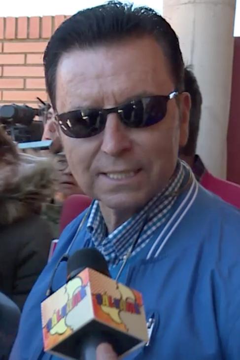 Ortega Cano, esta mañana.