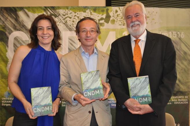Iglesias, Lasalle y Moral con el programa del CNDM 15/16