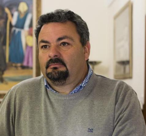 José Antonio Murillo, alcalde de Zalamea de la Serena.