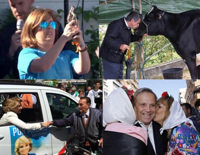 Algunas de las entrañables imágenes que nos ha dejado la campaña.