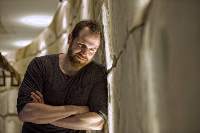 El escritor Joe Abercrombie, retratado en Barcelona.