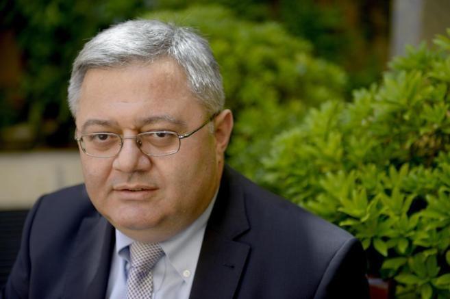 El presidente del Parlamento de Georgia, David Usupashvili.