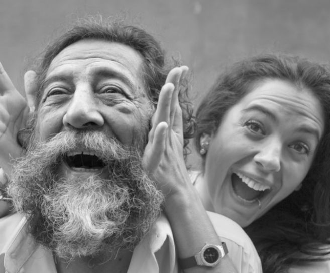 Alba Molina y su padre, Manuel, compartieron escenario en multitud de...