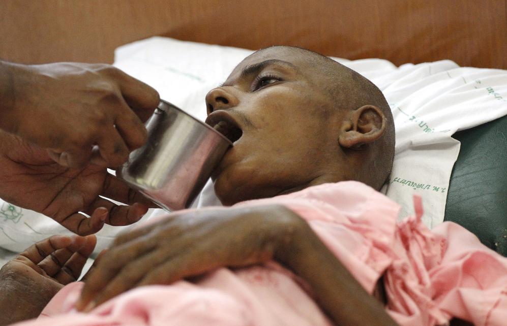 Tutansasa es uno de los supervivientes de un campo de Khao Kheow...