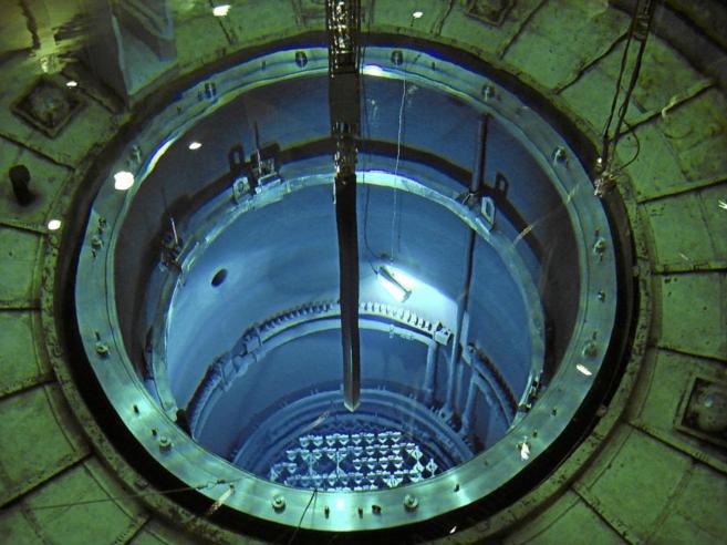Vasija del reactor nuclear de Santa María de Garoña (Burgos)