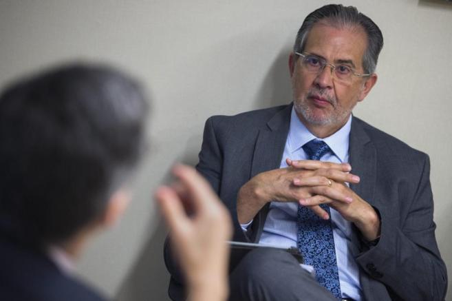 El editor del diario caraqueño 'El Nacional', Miguel Otero....