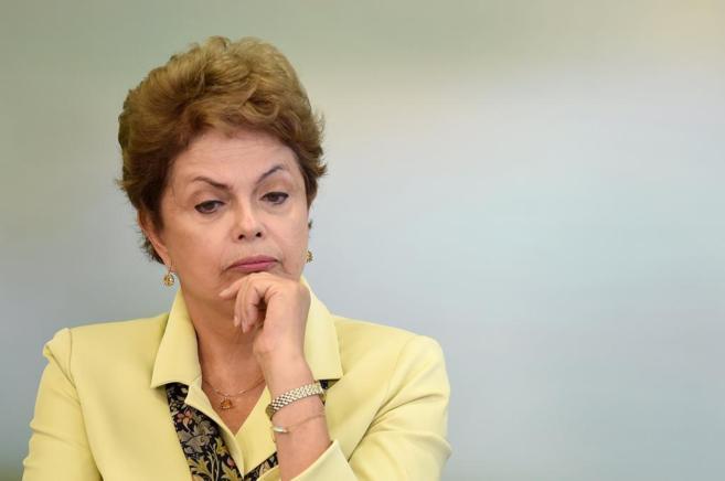 La mandataria de Brasil, Dilma Rousseff.