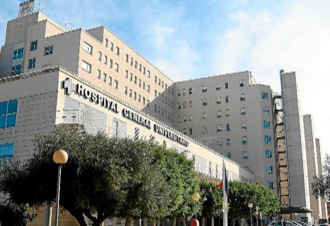Fachada del Hospital General de Alicante.