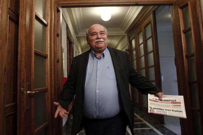 El ministro de Interior de Grecia, Nikos Voutsis.