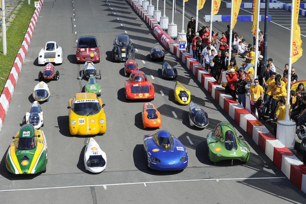 Algunos prototipos en la última edición celebrada en Róterdam.