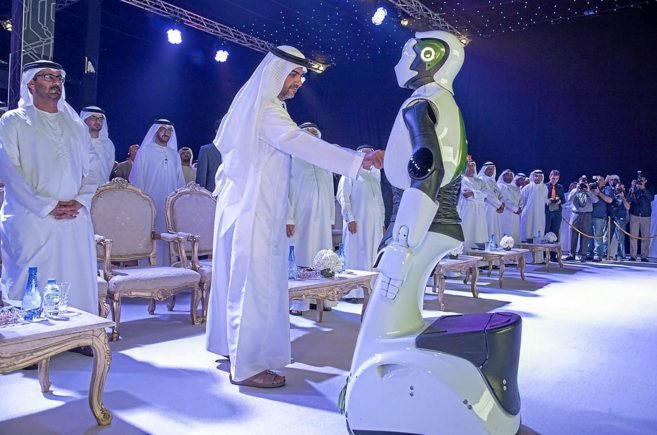 Un momento de la presentación del concurso en Abu Dhabi.