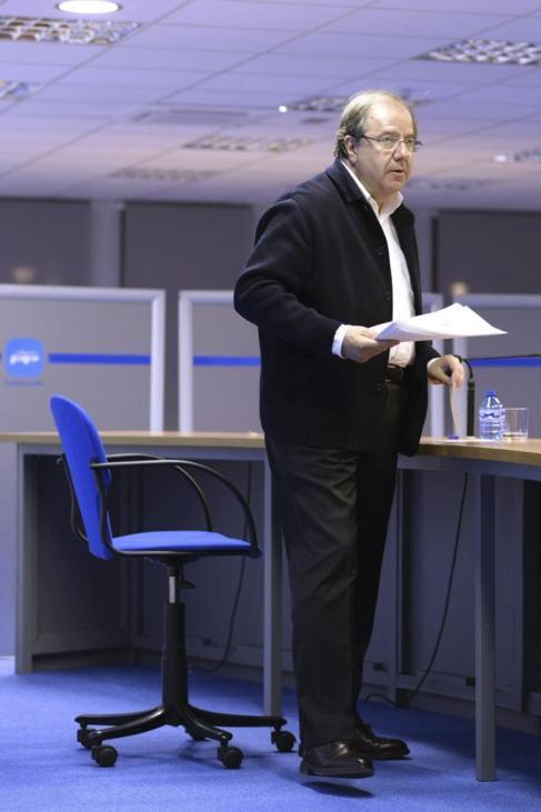 Juan Vicente Herrera valora los resultados electorales.