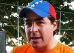 El opositor Daniel Ceballos, antes de ser encarcelado en Ramo Verde.