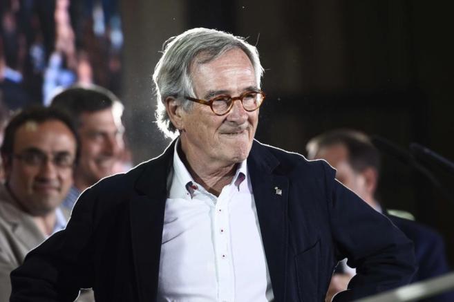 Xavier Trias, la noche electoral