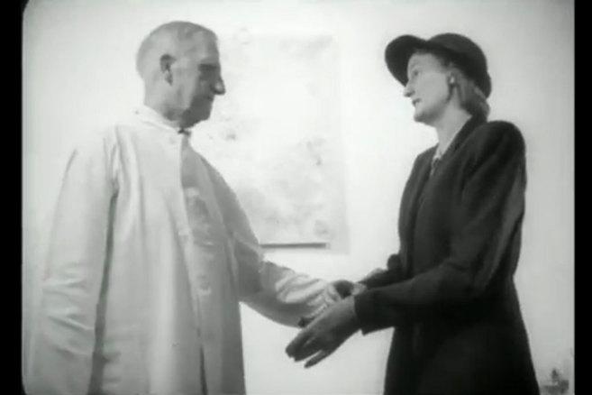 Fotograma del film danés 'La lucha contra el cáncer'.