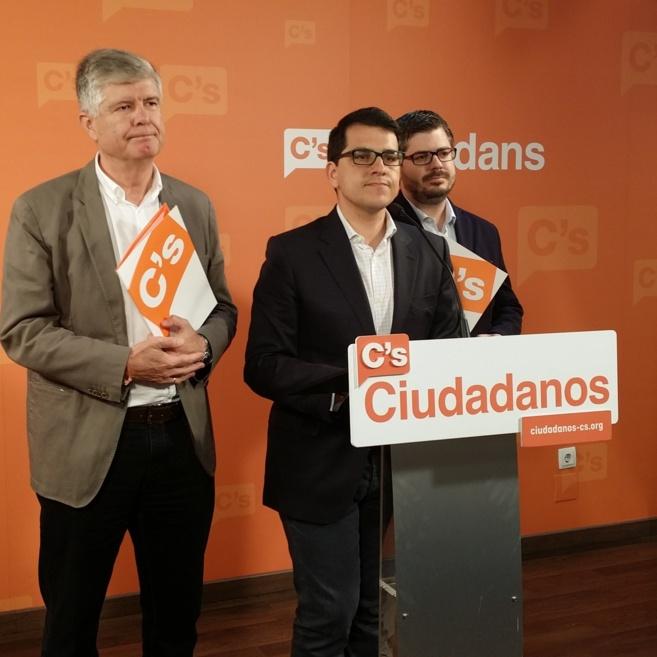 José María Espejo-Saavedra, coordinador del Comité de Acuerdo, en...
