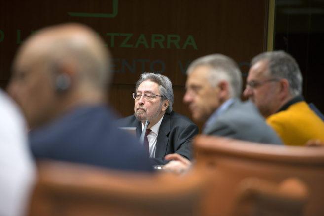 El candidato a Ararteko respaldado por PNV, PSE-EE y PP, Manu...