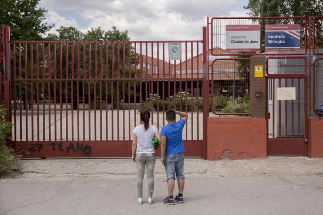 El instituto de Madrid donde se produjo el acoso escolar.