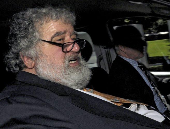 Blazer, en una imagen durante su etapa como secretario general de la...