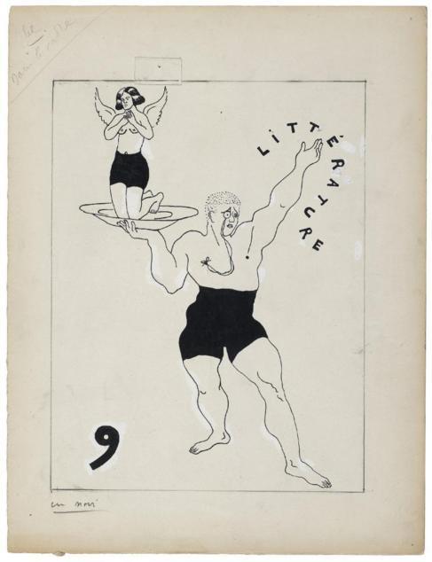 La literatura, retratada por Francis Picabia.