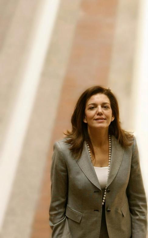 Amparo Moraleda, ex presidenta de IBM en España.