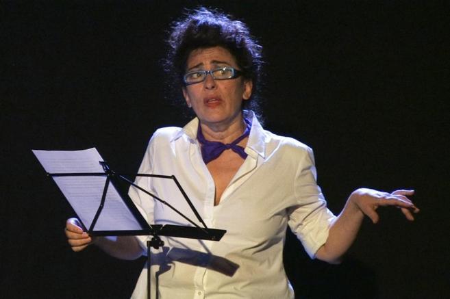 La actriz Isabel Ordaz, en una edición anterior del Maratón de...