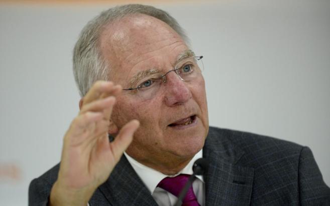 El ministro de Finanzas de Alemania, Wolfgang Schäuble