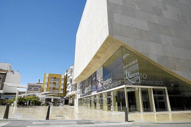 El Teatro Municipal, en pleno centro.