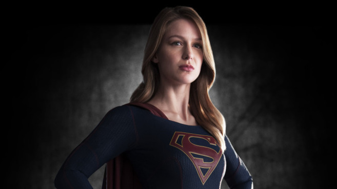 Melissa Benoist, protagonista de 'Supergirl'.