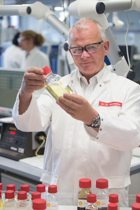 El responsable científico de movilidad de Shell, Wolfgang Warnecke.