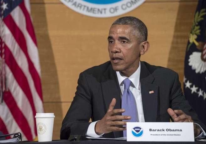 El presidente estadounidense, Barack Obama, en Miami.