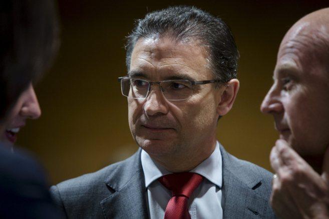 El delegado del Gobierno en la Comunidad Valenciana, Serafín...
