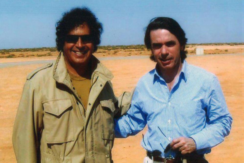Ahmed Gadafi al Dam guarda buenos recuerdos de sus encuentros con...