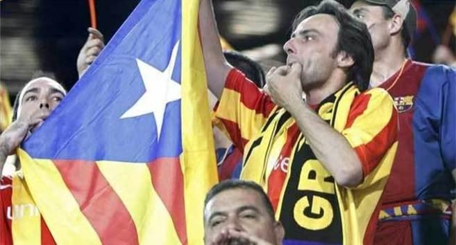 Instante de la final de 2012 celebrada en el Vicente Calderón en la...