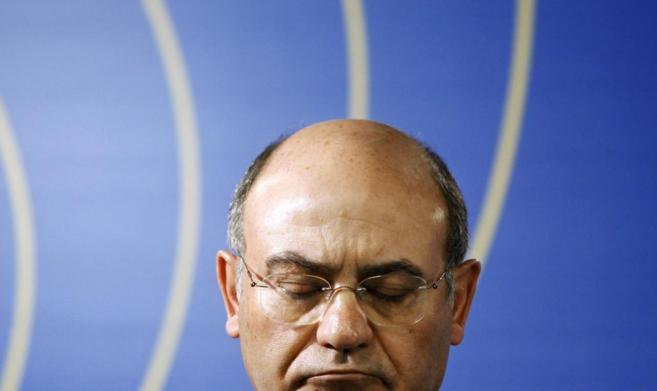 El ex presidente de la CEOE, Gerardo Díaz Ferrán, en una conferencia...