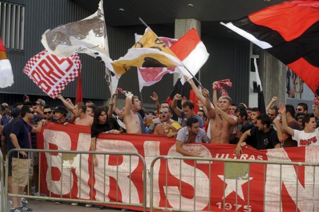 Biris, los ultras del Sevilla.