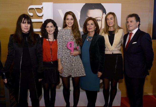 Marta Michel, directora de YO DONA, Ana Botella y Amaya Arzuaga con...