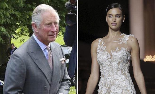 Carlos de Inglaterra y la modelo Irina Shayk han cenado juntos.